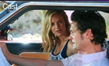 Red Velvet Movie cast members Henry Thomas and Kelli Garner
